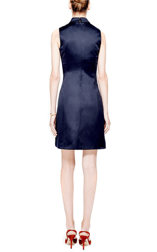 Gattaca Printed Sateen Dress by Mary Katrantzou Now Available on Moda Operandi