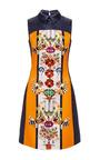 Gattaca Printed Sateen Dress by Mary Katrantzou Now Available on Moda Operandi
