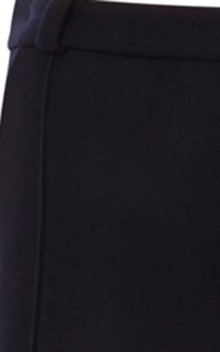 Bouchra Jarrar - Stripe-Detail Wool-Flannel Pants