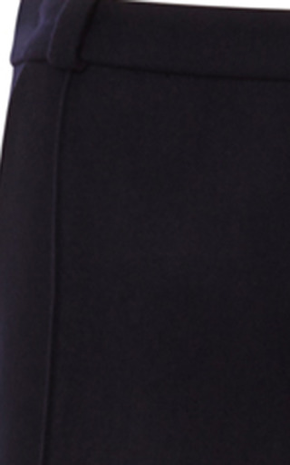 Stripe-Detail Wool-Flannel Pants by Bouchra Jarrar Now Available on Moda Operandi