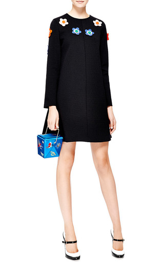 Take Me Away Embroidered Satin Clutch by Charlotte Olympia for Preorder on Moda Operandi