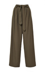 Lindberg Belted Wool-Twill Pants by Rosie Assoulin Now Available on Moda Operandi