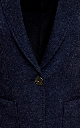 Wool Blend Jersey Blazer by DEREK LAM Now Available on Moda Operandi
