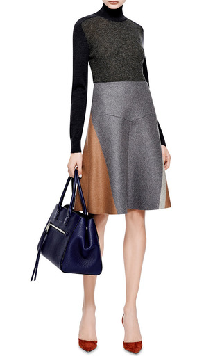 Wool-Blend A-Line Skirt by Derek Lam Now Available on Moda Operandi