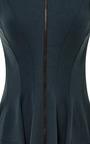 Zipper-Front Jersey Dress by Derek Lam Now Available on Moda Operandi