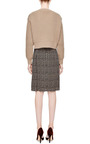 Marc Jacobs - Cropped Waffle-Knit Sweater