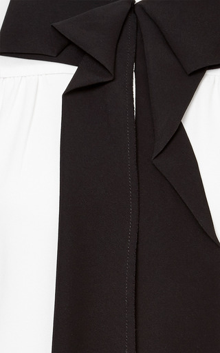 Marc Jacobs - Bow-Detail Silk-Crepe Top