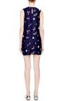 Dania Apple-Print Silk Shorts by Piamita Now Available on Moda Operandi