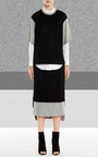 Layered Midi Skirt by Josh Goot Now Available on Moda Operandi