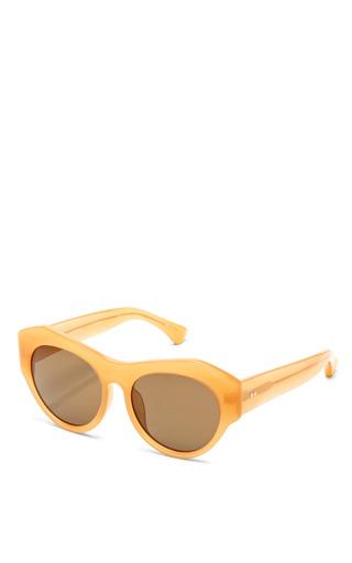 Linda Farrow - For Dries Van Noten D-Frame Acetate Sunglasses