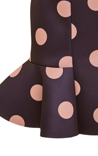 Eva Neoprene Mini Skirt in Black/Pink by Vivetta Now Available on Moda Operandi