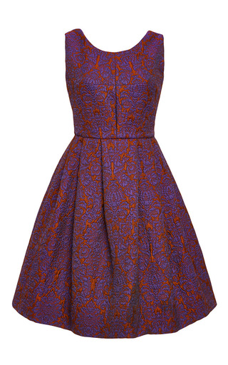 Vincenzino Brocade Dress by VIVETTA Now Available on Moda Operandi