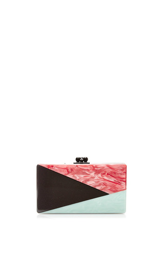 M'o exclusive: jean harlow acrylic clutch by EDIE PARKER Available Now on Moda Operandi