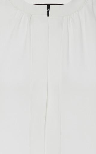 Derek Lam - Nehru Collar Silk Blouse