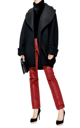 Swackhammer Oversized Boiled-Wool Coat by Ellery Now Available on Moda Operandi