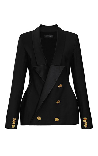 Hallucinogen Double-Breasted Tuxedo Blazer by Ellery Now Available on Moda Operandi