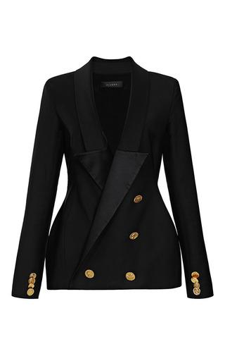 Hallucinogen Double-Breasted Tuxedo Blazer by Ellery Now Available on Moda Operandi