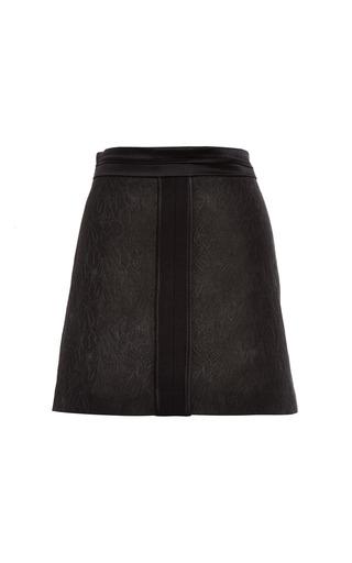 Ellery - Surreal Floral Brocade Skirt
