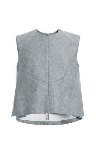 Stone Kakiemon Top by Ellery Now Available on Moda Operandi