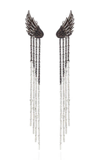 Long Wing Earrings by AS29 for Preorder on Moda Operandi