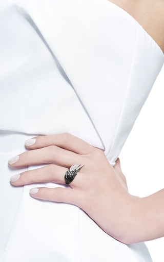 Small Wing Ring by AS29 for Preorder on Moda Operandi
