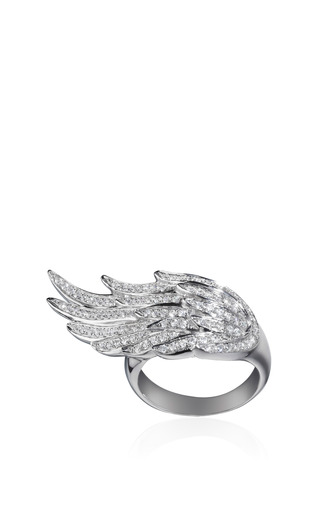 Pinky Wing Ring by AS29 for Preorder on Moda Operandi
