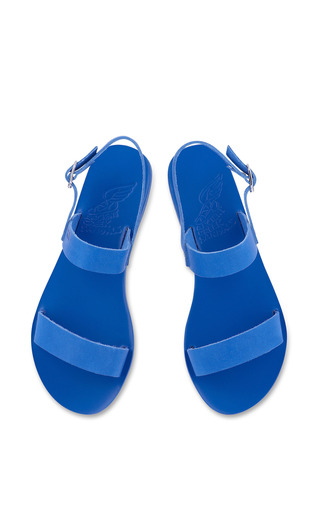 Clio Sandal In All Blue by Ancient Greek Sandals for Preorder on Moda Operandi