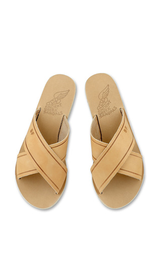 Thais Sandal In Natural by Ancient Greek Sandals for Preorder on Moda Operandi