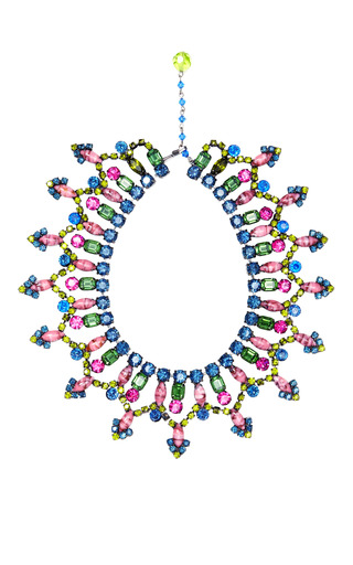 Carole Tanenbaum - Vintage VRBA Multicolored Small Collar Necklace