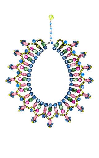 Vintage VRBA Multicolored Small Collar Necklace by Carole Tanenbaum for Preorder on Moda Operandi