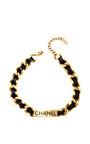 Vintage Chanel Labeled Choker Necklace by Carole Tanenbaum for Preorder on Moda Operandi