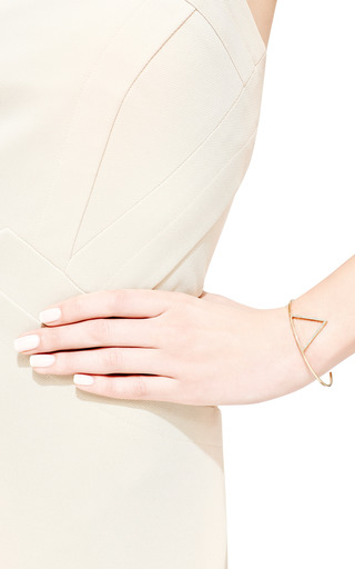 Zoe Chicco - 14K Pave Open Triangle Cuff
