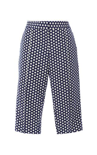 Giulia bermuda shorts in navy hex by APIECE APART Preorder Now on Moda Operandi