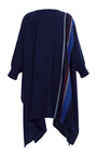 Stripe Weave Poncho by Apiece Apart for Preorder on Moda Operandi