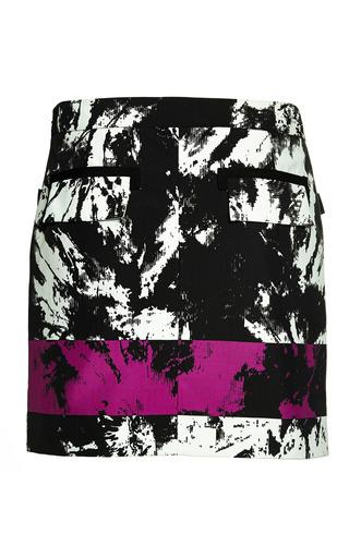 Alexander Wang - Low Waisted Miniskirt With Webbing Detail