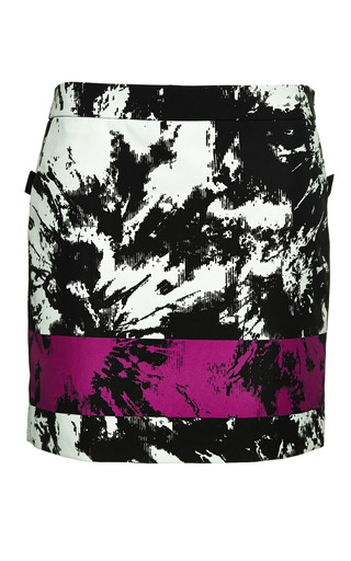 Low waisted miniskirt with webbing detail by ALEXANDER WANG Preorder Now on Moda Operandi