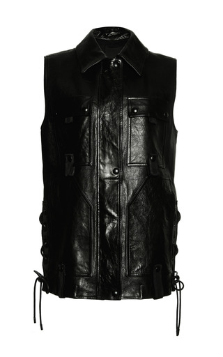 Workwear vest with backpack by ALEXANDER WANG Preorder Now on Moda Operandi