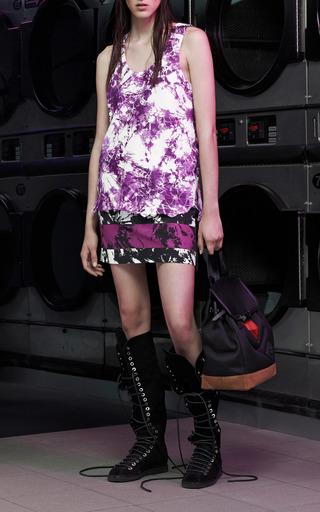 Scoop Neck Tank With Rawhide Hem by Alexander Wang for Preorder on Moda Operandi