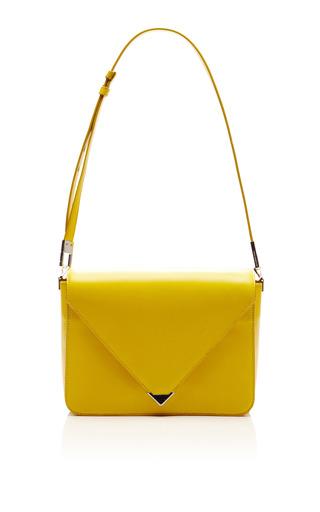 Prisma Large Envelope In Limonite by ALEXANDER WANG for Preorder on Moda Operandi