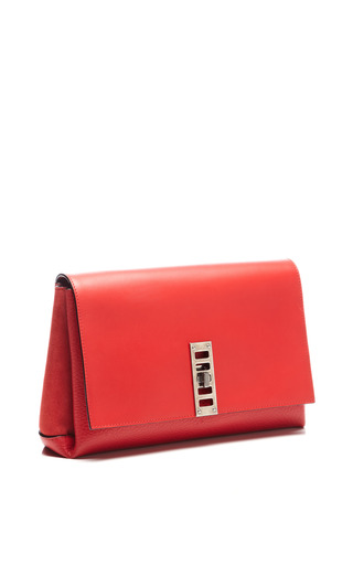 Elliot Clutch In Red by Proenza Schouler for Preorder on Moda Operandi