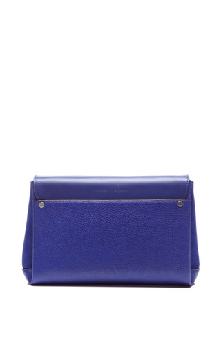 Elliot Clutch In Dark Blue by PROENZA SCHOULER for Preorder on Moda Operandi