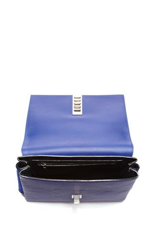 Elliot Clutch In Dark Blue by Proenza Schouler for Preorder on Moda Operandi
