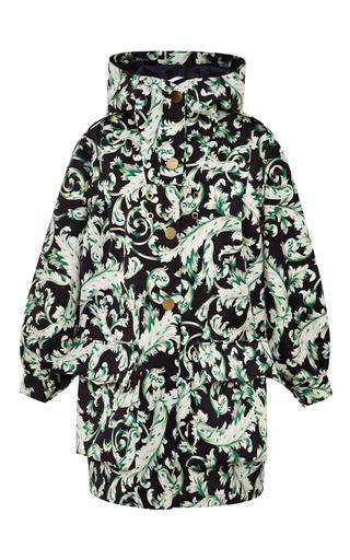 Bonded printed silk anorak by TOME Preorder Now on Moda Operandi