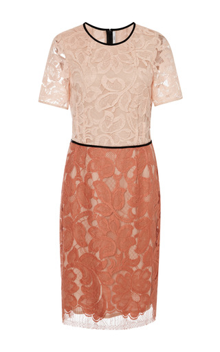 Lace double dart dress by TOME Preorder Now on Moda Operandi