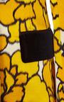 Marc Jacobs - Gold Petal Tuxedo Jacket With Black Velvet Lapel