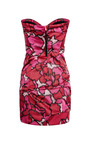 Pink Petal Bustier Dress by Marc Jacobs for Preorder on Moda Operandi
