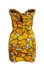 Gold Petal Bustier Dress by Marc Jacobs for Preorder on Moda Operandi