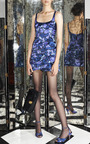 Purple Petal Chine Tank Dress by MARC JACOBS for Preorder on Moda Operandi