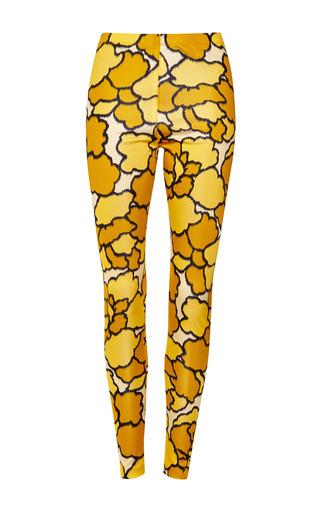 Gold petal jersey legging by MARC JACOBS Preorder Now on Moda Operandi