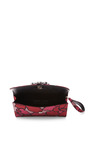 Marc Jacobs - Double Trouble Clutch In Pink Petal Silk